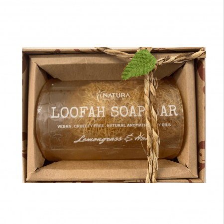 Lemongrass & Honey Loofah Soap Bar