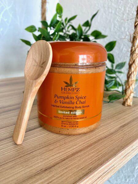 Limited Edition Pumpkin Spice & Vanilla Chai Body Scrub